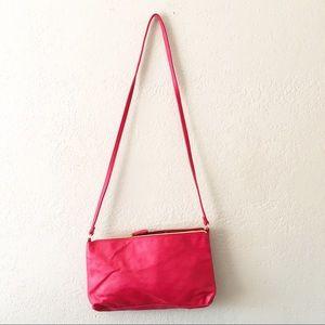 Betsy Johnson   Red Crossbody Bag